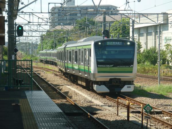 2014-08-20 横浜線E233系クラH010編成 東神奈川行き