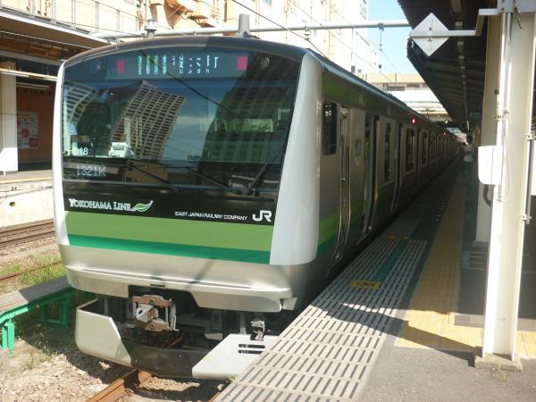 2014-08-20 横浜線E233系クラH018編成 桜木町行き1