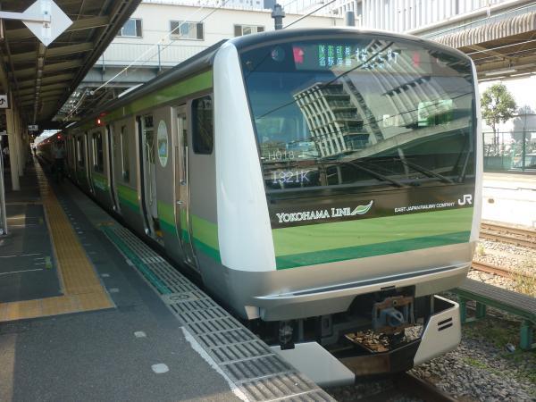 2014-08-20 横浜線E233系クラH018編成 桜木町行き2