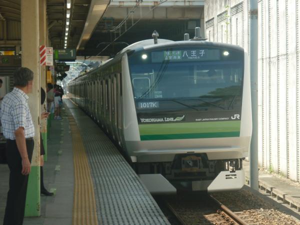2014-08-20 横浜線E233系クラH021編成 八王子行き1