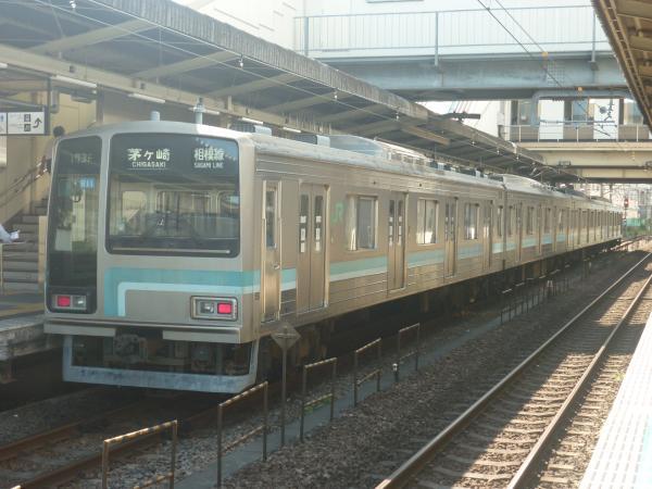 2014-08-20 相模線205系コツR11編成 茅ヶ崎行き1
