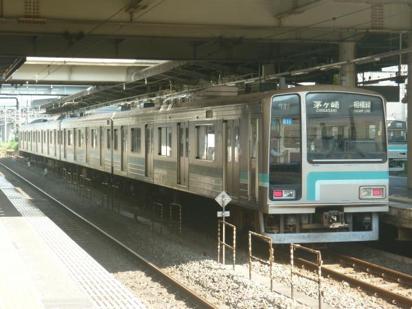 2014-08-20 相模線205系コツR11編成 茅ヶ崎行き2