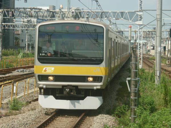 2014-08-20 総武線E231系ミツB36編成 千葉行き
