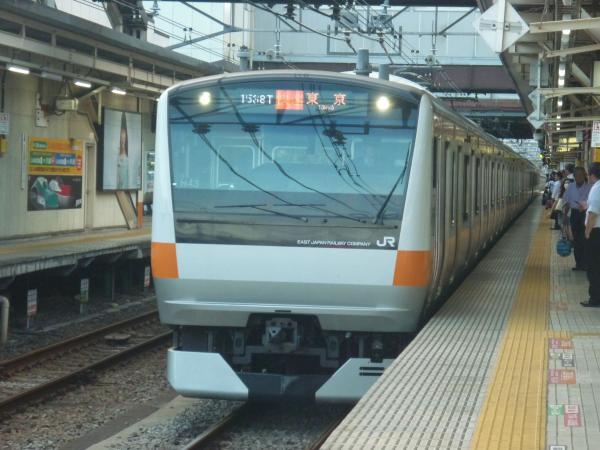 2014-08-20 中央線E233系トタH43編成 快速東京行き