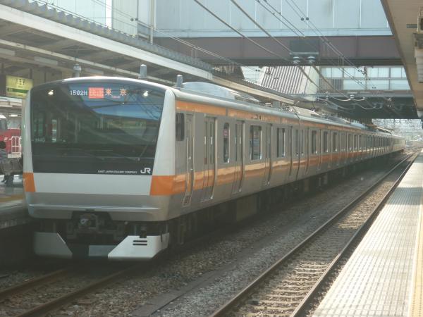 2014-08-20 中央線E233系トタH45編成 快速東京行き