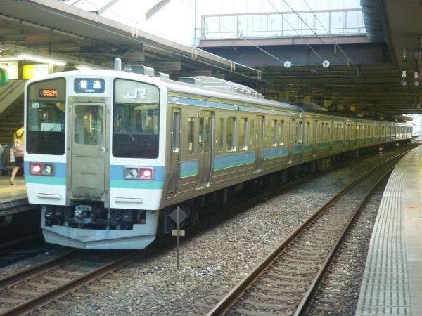 2014-08-20 長野地区211系ナノN601編成 松本行き