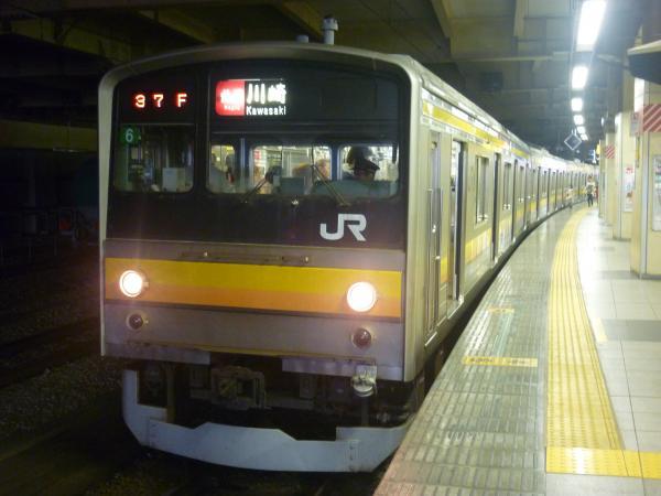 2014-08-20 南武線205系ナハ6編成 快速川崎行き1