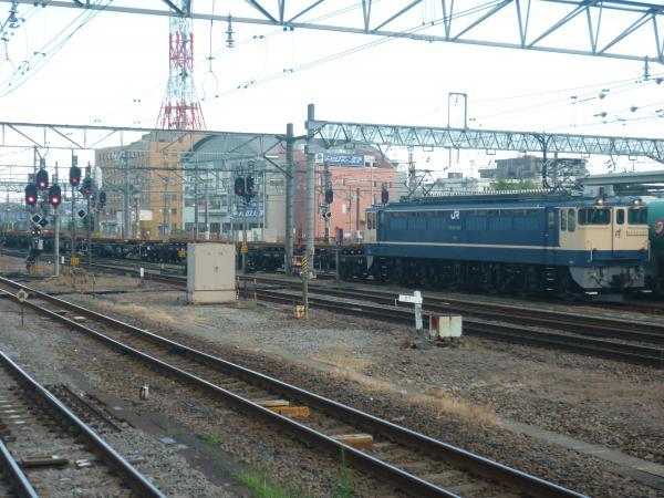 2014-08-20 八王子駅 貨物列車