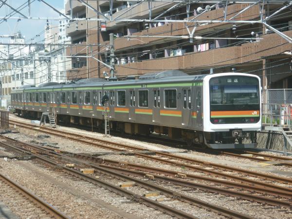 2014-08-20 八高線209系ハエ63編成 回送