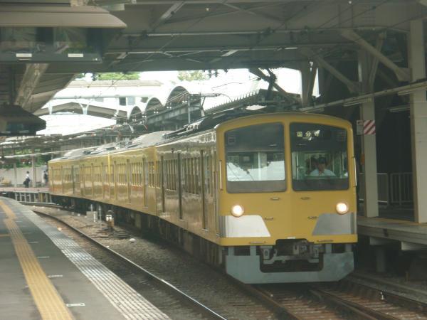 2014-08-23 西武263F 国分寺行き 6036レ