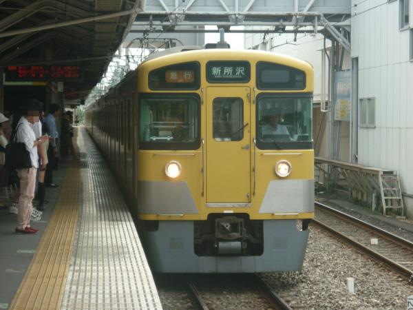 2014-08-23 西武2023F+2515F 急行新所沢行き 2805レ