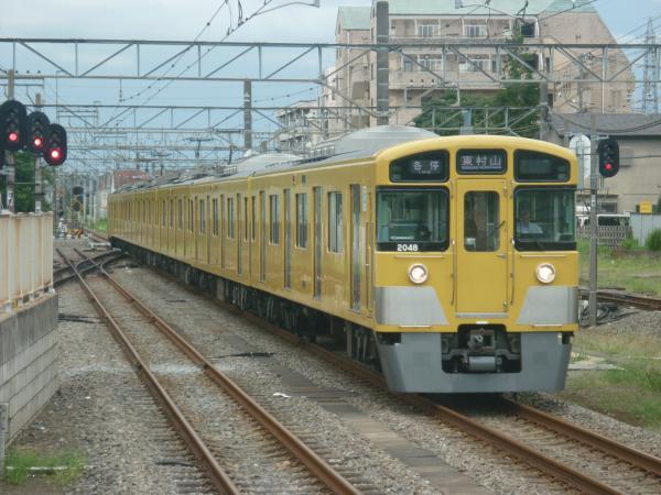 2014-08-23 西武2047F 各停東村山行き 6641レ
