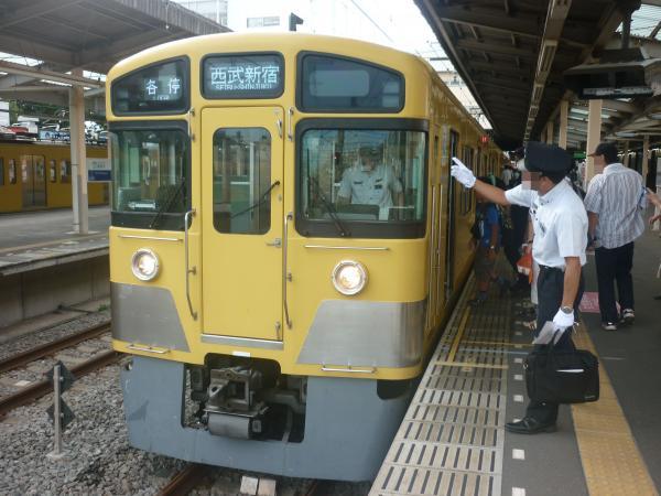 2014-08-23 西武2059F 各停西武新宿行き 5626レ