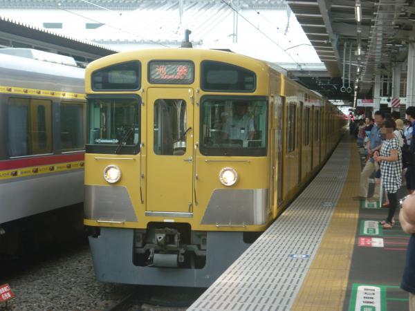 2014-08-23 西武2087F 準急池袋行き 4314レ