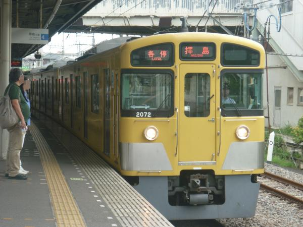 2014-08-23 西武2071F 各停拝島行き 5411レ