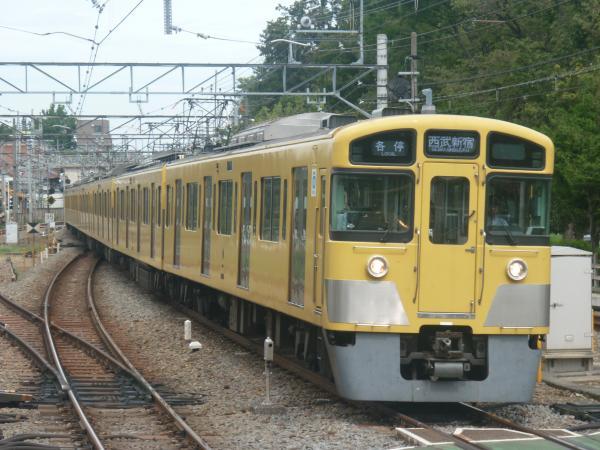 2014-08-23 西武2095F 各停西武新宿行き 5324レ