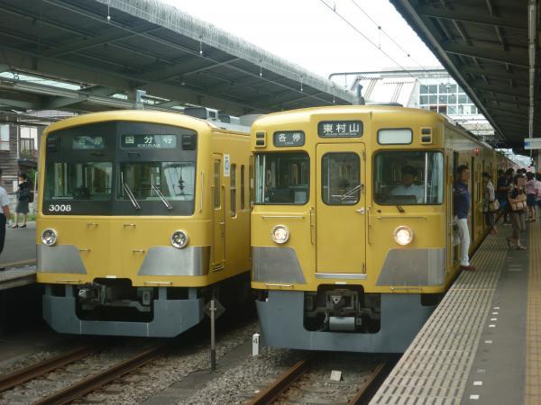 2014-08-23 西武3007F 2011F