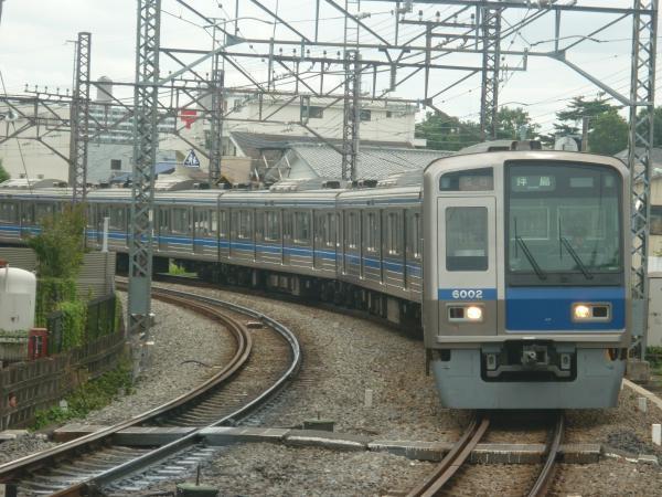 2014-08-23 西武6102F 急行拝島行き 2311レ