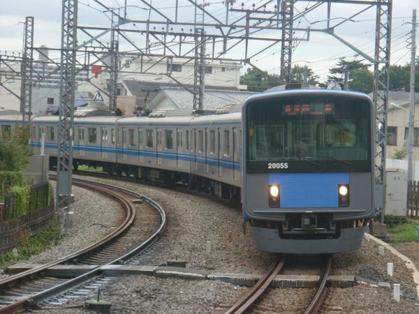 2014-08-23 西武20155F 各停拝島行き 5323レ