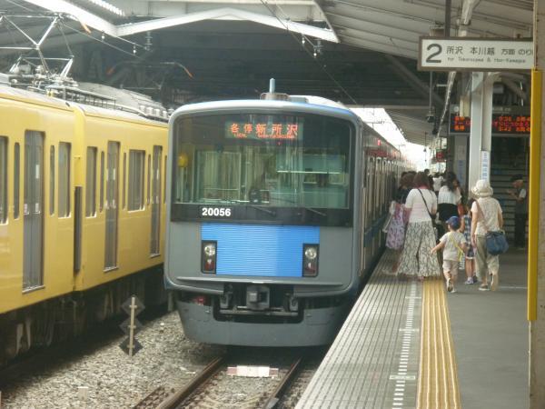 2014-08-23 西武20156F 各停新所沢行き2 5803レ