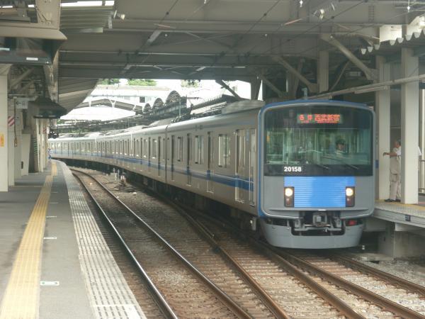 2014-08-23 西武20158F 各停西武新宿行き 5328レ