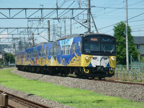2014-08-06 西武3011F 急行池袋行き1 2136レ