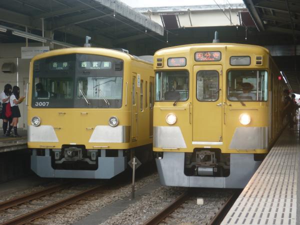 2014-07-28 西武3007F 2031F