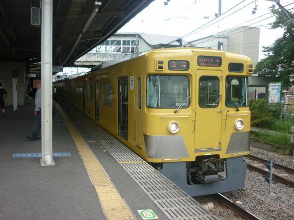 2014-08-23 西武2033F 各停玉川上水行き