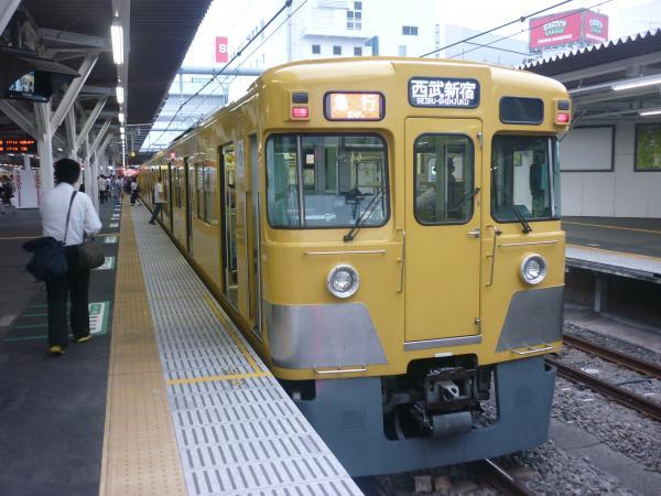 2014-09-19 西武2527F+2031F 急行西武新宿行き 2674レ