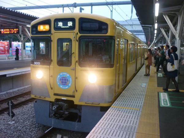 2014-09-19 西武9101F 急行池袋行き 2168レ