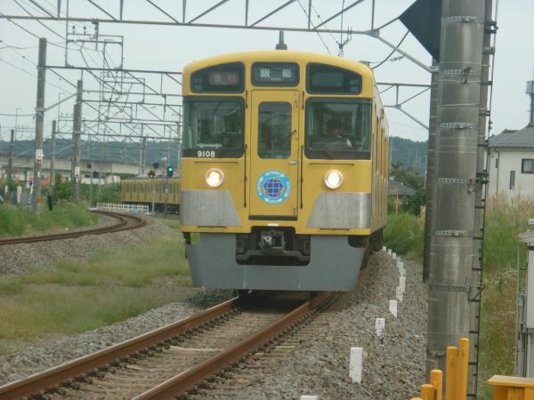 2014-09-19 西武9108F 急行飯能行き 2147レ