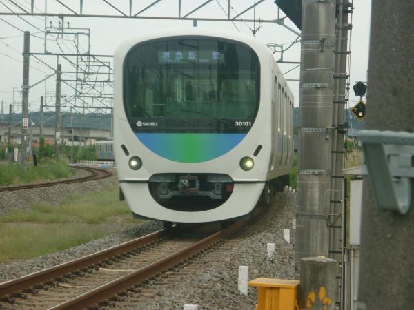 2014-09-19 西武30101F 準急飯能行き 4135レ