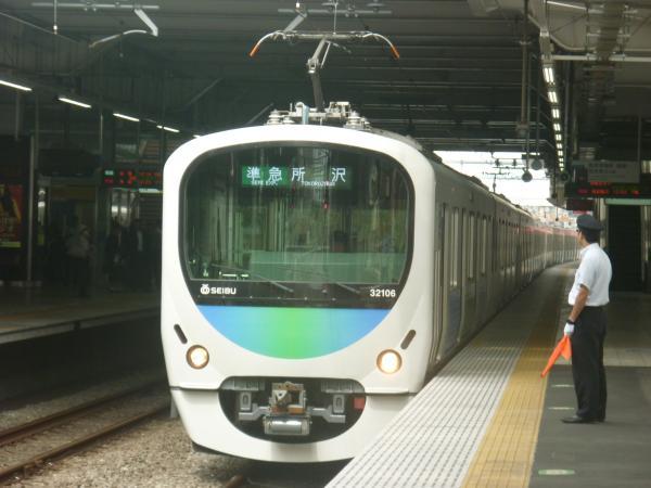 2014-09-19 西武32106F+38110F 準急所沢行き 4305レ