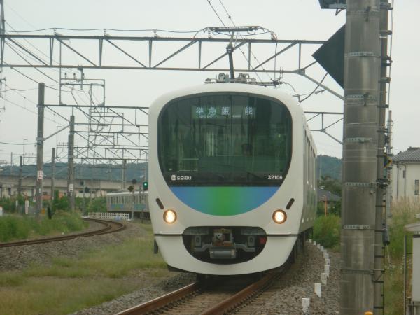 2014-09-19 西武32106F+38110F 準急飯能行き 4137レ