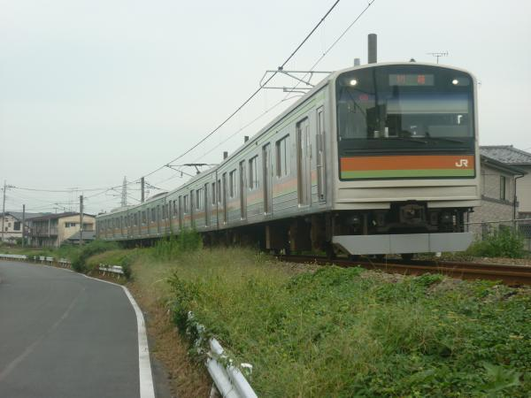 2014-09-19 八高線205系ハエ85編成 川越行き