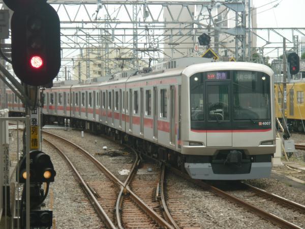 2014-09-19 東急4107F 快急元町・中華街行き 1856レ