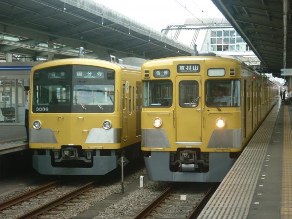 2014-07-28 西武3007F 2011F 1