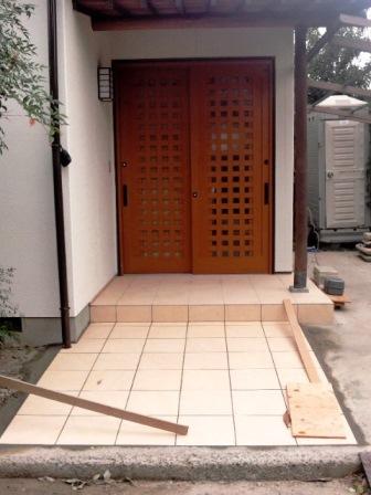 玄関アフター