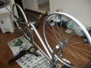 自転車修理前