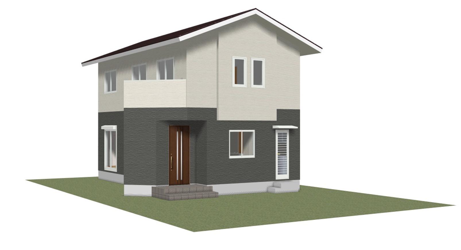 モデルハウス外観イメージ