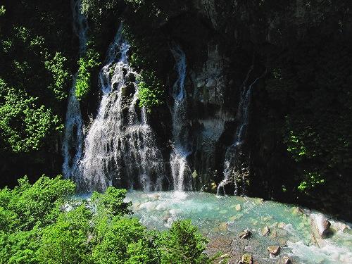 s-白ひげの滝と・・・