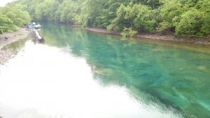 支笏湖の川