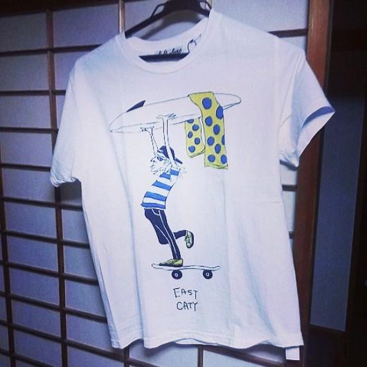 スケボーTシャツ