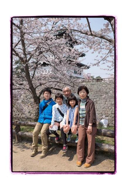 弘前 出張 写真 撮影 スナップ 記念 写真 ロケーション 子ども 家族 カメラマン 写真館 フリーカメラマン 桜