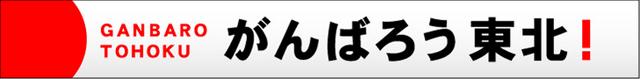 頑張ろう東北!応援バナー 岩手県 紫波町 矢巾町 西和賀町 金ヶ﨑町 平泉町 住田町 大槌町 山田町 岩泉町 田野畑村 普代村 軽米町 野田村 九戸町 洋野町 一戸町