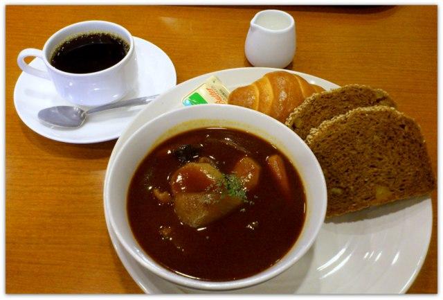 弘前 ランチ グルメ ラグノオ ベーカリー カフェ SAKI サキ 日替わりランチ ビーフシチュー