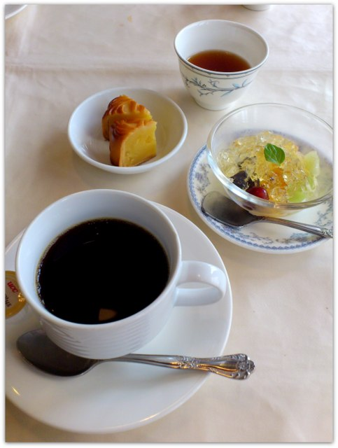 弘前 中国料理 豪華楼 ランチセット 胡蝶蘭