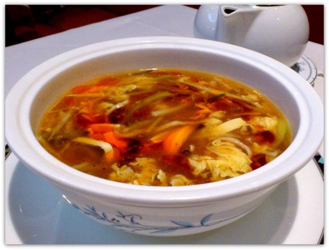 弘前 中国料理 豪華楼 酢辣湯