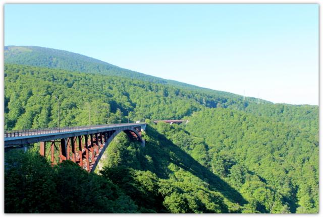 今日の岩木山 青森県 城ヶ倉大橋