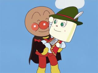 アンパンマンとミスター・ヨーグルト
